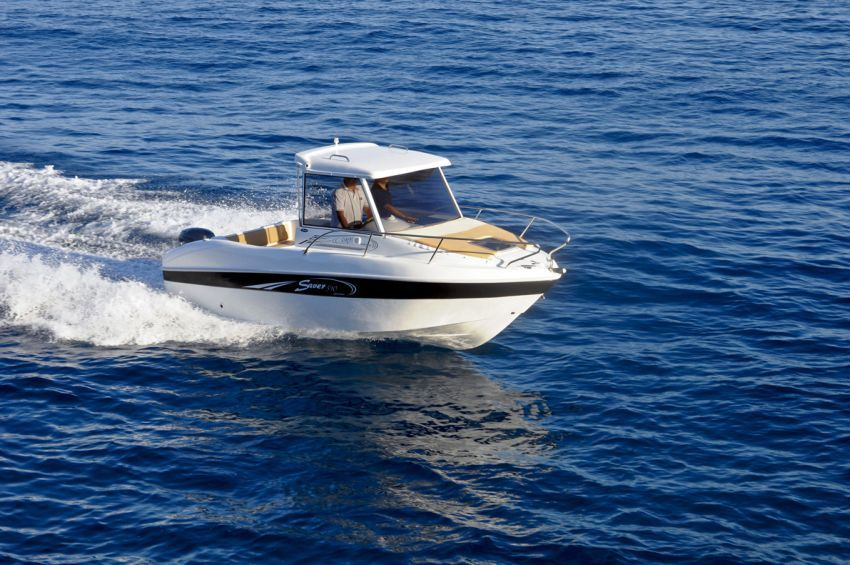 Saver Manta 590 Cabin Fisher